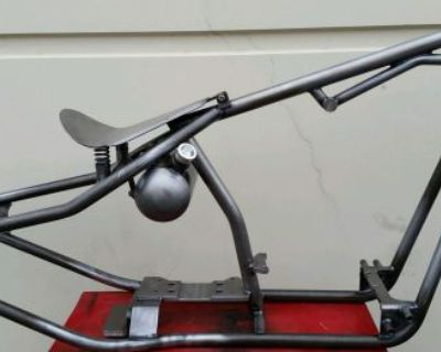 Rigid Dropseat Frame Chopper Bobber Knucklehead Panhead Shovelhead