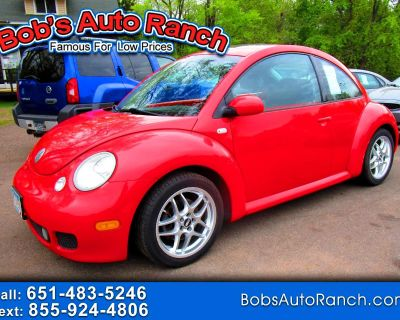 Used 2002 Volkswagen New Beetle 2dr Cpe Turbo S Manual