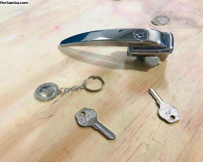 Oval Door Handle with SG Blank Keys