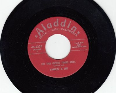 SHIRLEY & LEE ~ Let The Good Times Roll*Mint-45 !