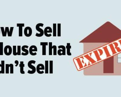 Where to Turn to When Your Home Doesn't Sell