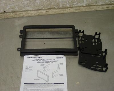 Scosche Fd1428b 01-06 Ford Mercury Double Din Radio Stereo Installation Kit