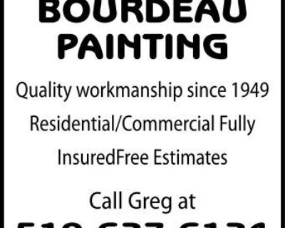 BOURDEAU PAINTING Quality wo...