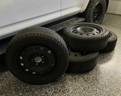 205/55R16 Winter Blizzak on steel wheels (5x114.3) (Honda Civic)