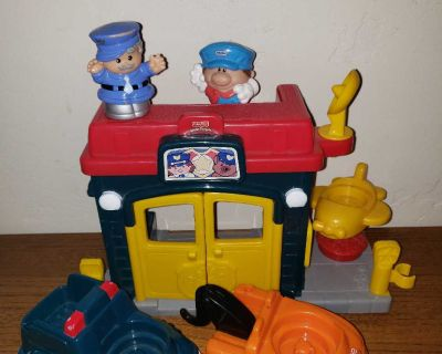 Little People police station and more