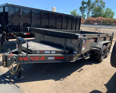 "2021 MAXX-D Trailers 14' x 83"" 14K I Beam Dump Dump Trailers Acampo, CA"