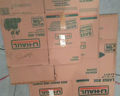 used u-haul moving boxes