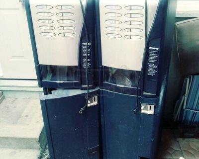 (2) 2006 Saeco Barista Supremo Coffee Vending Machines