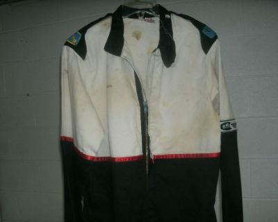 New Fmr Fire Suit Jacket Medium Race Racing Firesuit Black Sfi Proban 3-2a/1