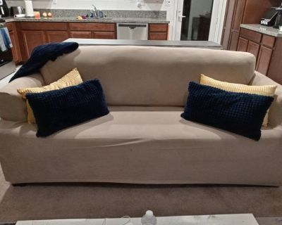 Sofa and Loveseat Couch Covers Included