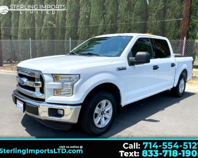 Used 2015 Ford F-150 XLT SuperCrew 5.5-ft. Bed 2WD
