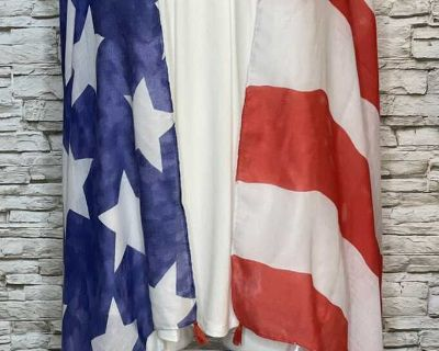 American Flag Vest - one size!