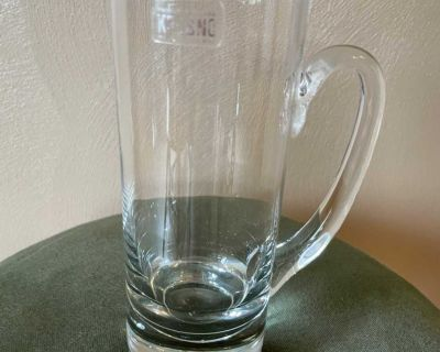 Krosno Crystal Beer Stein made in Poland