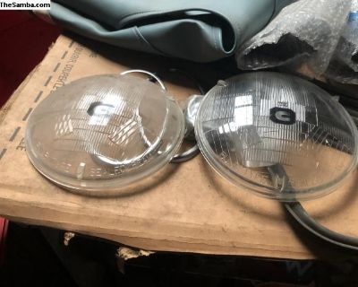 Euro headlight lens Ghia