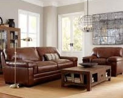 Myars Leather Sofa and Chair Reg. $3295. Outlet $1398. <===FURNITURE NOW