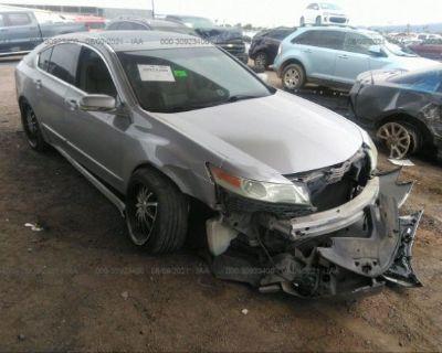 Salvage Silver 2009 Acura Tl