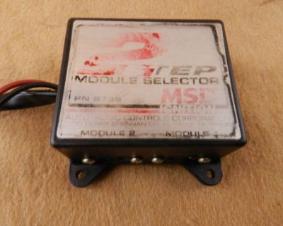 Msd Ignition 8739 Multi-step Module Selector 2-step Ford Chevy Mopar Nhra Drag