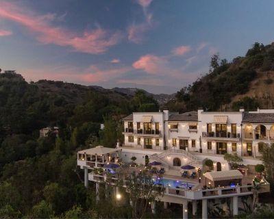 Italian View Villa Estate - Hollywood Hills
