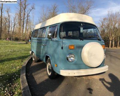 1978 Volkswagen Type 2 Kombi Bus Camper