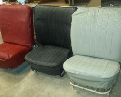 VW low back seats 3 to choose from