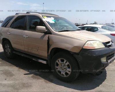 Salvage Gold 2002 Acura Mdx