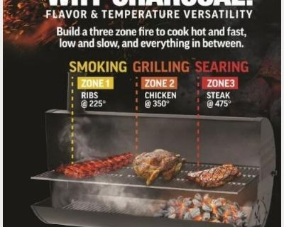 CharBroil charcoal grill.
