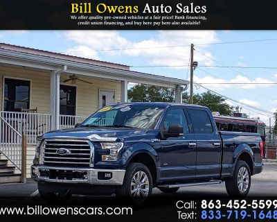"2015 Ford F-150 2WD SuperCrew 139"" XLT"