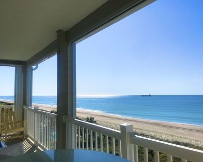 ONCE UPON A TIDE: Top Floor, Oceanfront, NEW LISTING, Pool, Come Stay a While! - Indian Beach