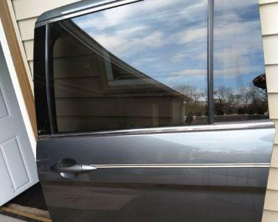 2008 honda odyssey complete driver side sliding door leather interior trim oem