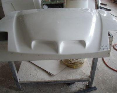 Fiberglass 93-97 Firebird/trans Am Functional Ram Air Bolt On Hood