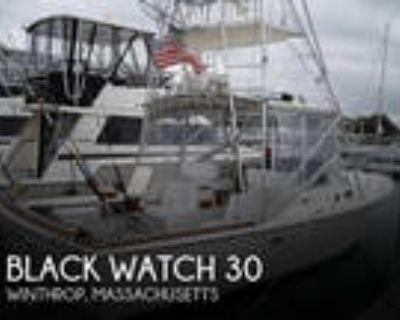 30 foot Black Watch 30