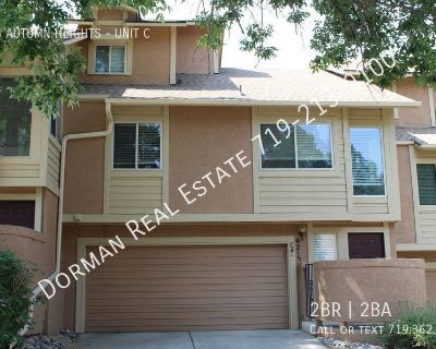 Townhome Close to Ft Carson