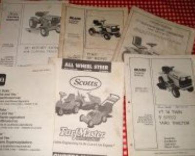 Garden Tractor Manuals