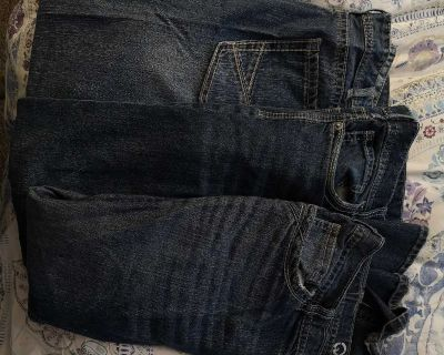 Warehouse one men's jeans 3 pairs 38x32