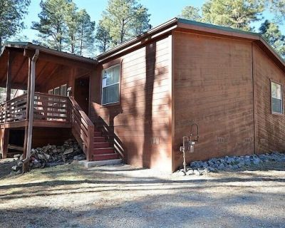 LARGE ONE LEVEL 5 BEDROOM/4 BATH CABIN CLOSE TO DOWNTOWN WITH WIFI - Ponderosa Heights