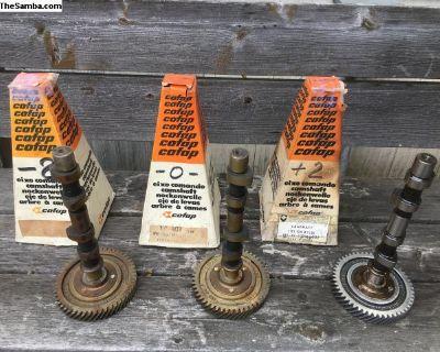 NOS Cofap Flat Gear Camshafts Woodburn OR 6/5