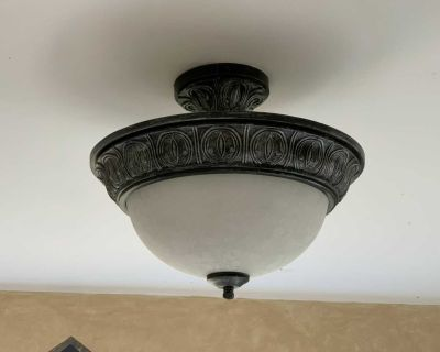 Ceiling Light Fixture - 3 available