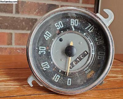 Vw, 2/66, speedometer, #111.957.023E