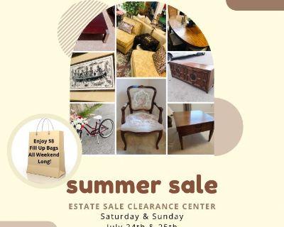Summer Estate Sale Clearance