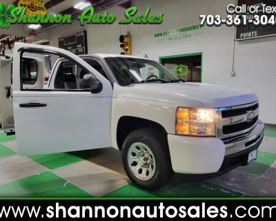 Used 2009 Chevrolet Silverado 1500 LS Ext Cab 6.5-ft. Bed Work Truck 2WD