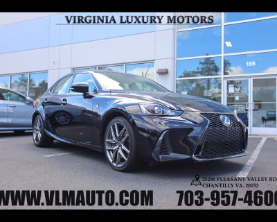 2017 Lexus IS IS Turbo F Sport RWD