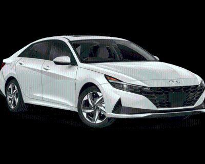 New 2022 Hyundai Elantra Hybrid Limited FWD 4D Sedan