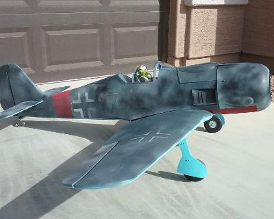 """Phoenix Models FW-190 FOCKE WULF - 68"""" wingspan"""