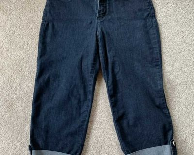 Women s Not Your Daughter Jeans capris size 8