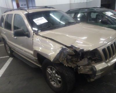 Salvage Beige 2000 Jeep Grand Cherokee