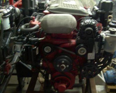 Volvo Penta 8.1 Gi-j 496 Gm Based Bobtail Engine 4 Hours Only!!!!