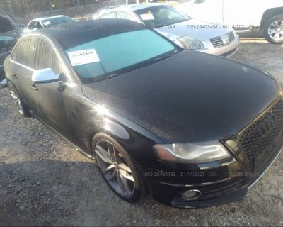 Salvage Black 2010 Audi S4