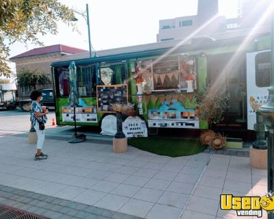 2018 - 8' x 24' Mobile Kitchen Food Concession Trailer w/ Screened Patio Porch