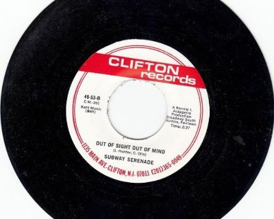 SUBWAY SERENADE ~ Out Of Sight Out Of Mind*Mint-45 !