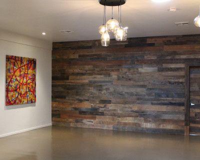 Rustic, Modern Loft with Custom Wood Walls & Warehouse Feel, Belmont, CA